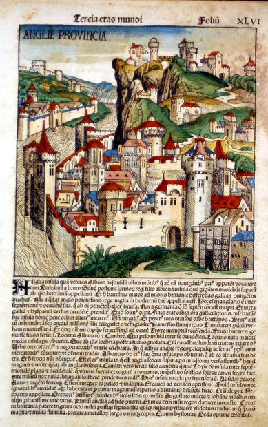 Anglie Provincia, 1493