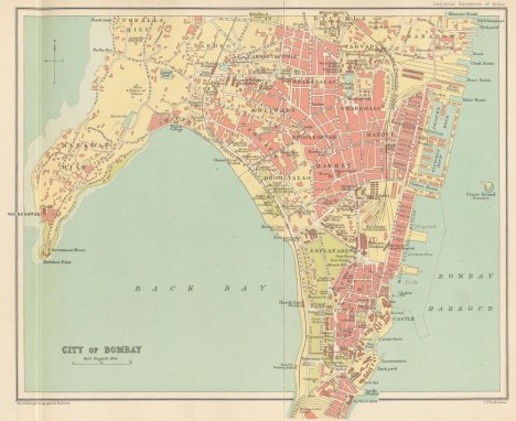 Plano de Bombay, 1907-1909