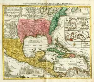 México y Florida, Siglo XVIII