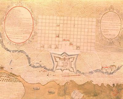 Plano de Buenos Aires, siglo XVIII
