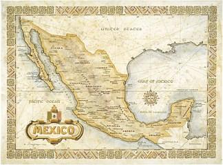 México, 1821. Omnimaps