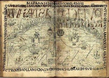 Mapa Mundi de las Indias del Perú, con la división cuatripartita del imperio incaico del Tawantinsuyu, ff. 1001-1002