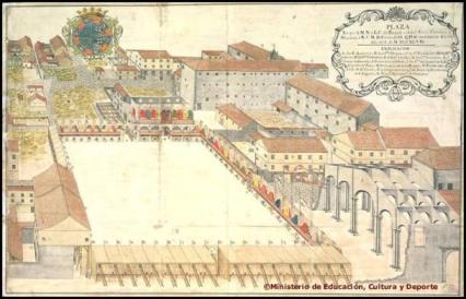 Ciudad de Panamá, Plaza Mayor. AGI, MP, Panamá, 144, año 1746
