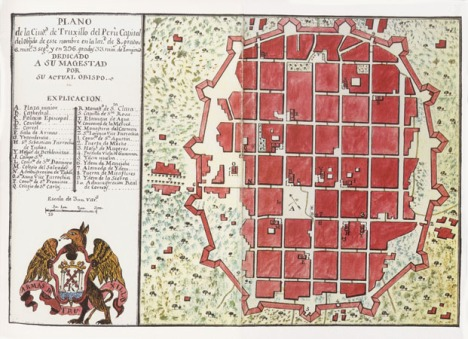 Trujillo del Perú, Jaime Mertinez de Compañón. Fines del siglo XVIII