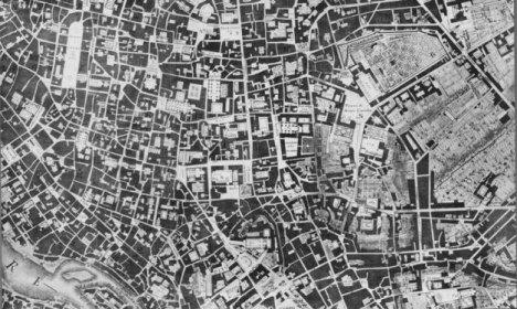 Plano de Roma. Giambattista Nolli, 1748