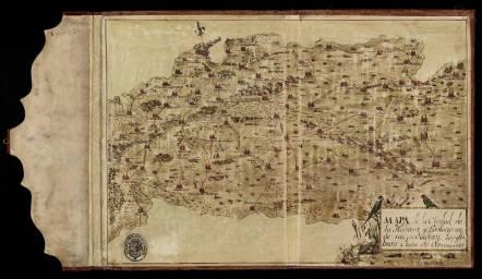 Mapa de la ciudad de La Habana y poblaciones de sus alrededores. Juan de Olmedilla, 1765