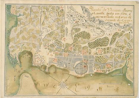 Plano de Viana. Gonçalo Luis da Silva Brandao, 1758