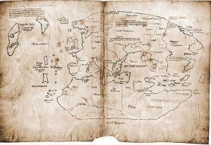 Mapa Vinland