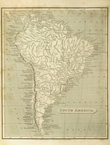 South America. PELHAM, Cavendish, 1808